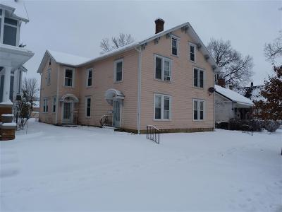 Urbana Multi Family Home For Auction: 214 E Church