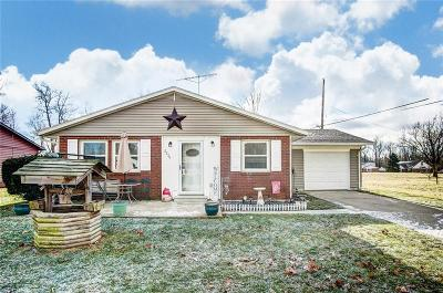 Springfield OH Single Family Home For Sale: $104,900