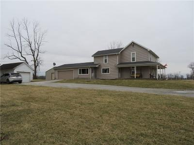 Urbana Single Family Home For Sale: 5163 State Route 55