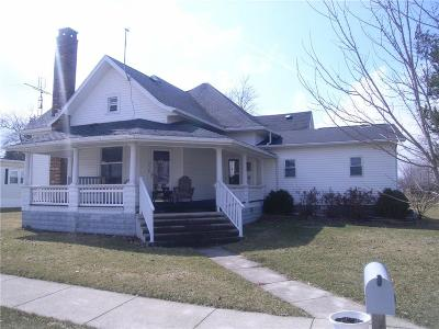 Mendon OH Single Family Home For Sale: $109,000