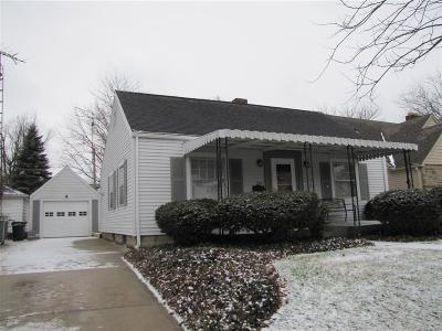 Urbana Single Family Home For Sale: 553 E Court