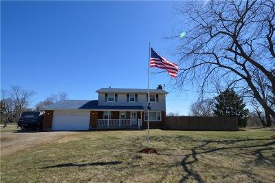 South Vienna Single Family Home For Sale: 3980 Vernon Asbury Road