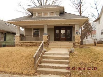 Springfield OH Single Family Home For Sale: $26,900