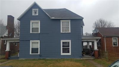 Springfield OH Multi Family Home For Sale: $50,500