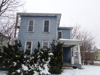 Springfield OH Single Family Home For Sale: $12,900