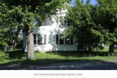 Single Family Home Sold: 2475 Mechanicsburg Road