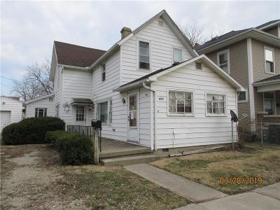 Urbana Single Family Home For Sale: 423 N Locust