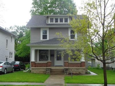 Urbana Single Family Home For Sale: 212 W Water Street