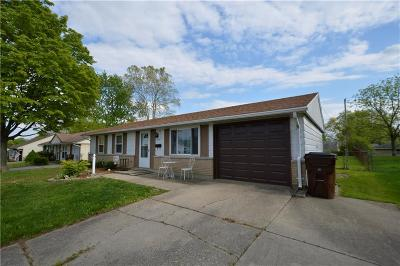 Springfield OH Single Family Home For Sale: $98,900
