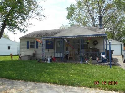 Springfield OH Single Family Home For Sale: $72,900