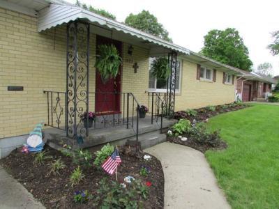 Springfield OH Single Family Home For Sale: $119,900