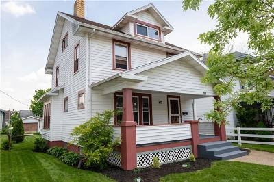 Springfield OH Single Family Home For Sale: $88,500