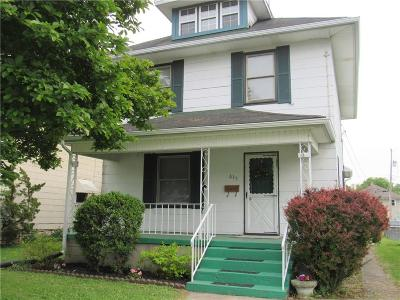 Springfield OH Single Family Home For Sale: $64,900