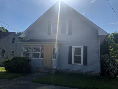 Springfield OH Single Family Home For Sale: $21,000