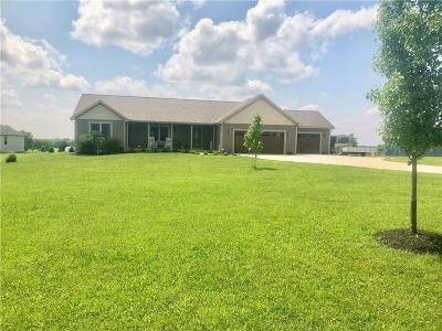 Urbana Single Family Home For Sale: 1290 Short Cut Road