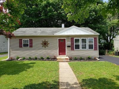 Springfield Single Family Home For Sale: 333 S Fostoria Avenue