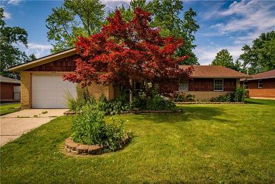 Huber Heights Single Family Home For Sale: 6523 Le Mans Lane