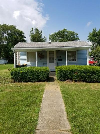 Urbana Single Family Home For Sale: 238 Harmon