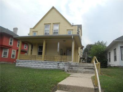 Springfield OH Multi Family Home For Sale: $34,500