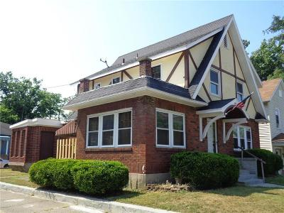 Springfield OH Single Family Home For Sale: $80,000