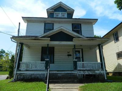 Springfield Single Family Home For Sale: 1001 W Pleasant Street