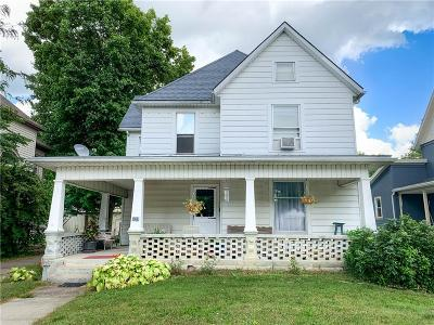 Urbana Single Family Home For Sale: 827 S Main Street