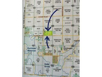 Fort Cobb Residential Lots & Land For Sale: 1230 Kennywaynorthlakeestates
