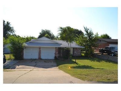 Anadarko Single Family Home For Sale: 1517 SW 6th