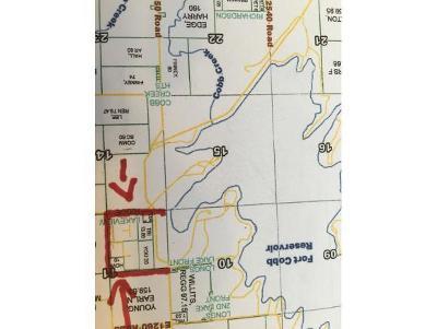 Fort Cobb Residential Lots & Land For Sale: 5555 Bella Vista Estates