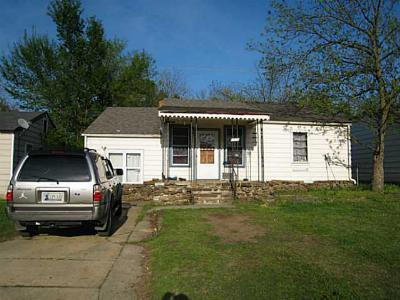 Wewoka OK Single Family Home For Sale: $27,000