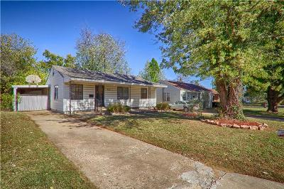 Midwest City Single Family Home Sold: 541 Showalter Drive