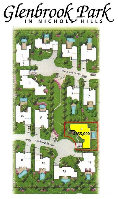 Nichols Hills Residential Lots & Land For Sale: 1521 Glenbrook Terrace