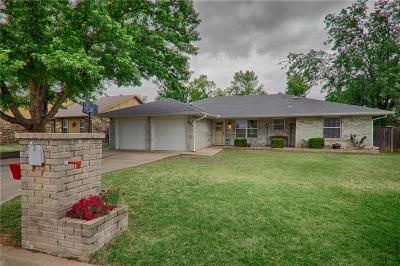 Midwest City Single Family Home Sold: 9621 Beth Drive