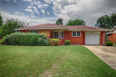 Midwest City Single Family Home Sold: 828 E Carroll Lane