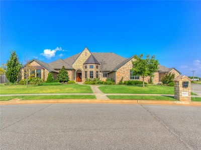 Oklahoma City OK Single Family Home For Sale: $897,400