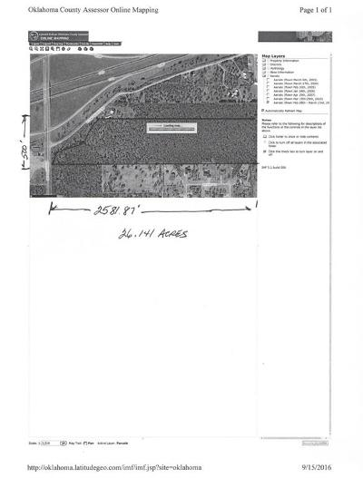 Oklahoma City OK Residential Lots & Land For Sale: $160,000
