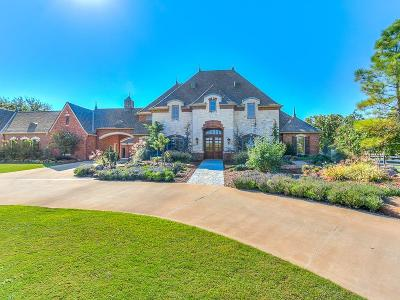 Arcadia OK Single Family Home For Sale: $3,650,000