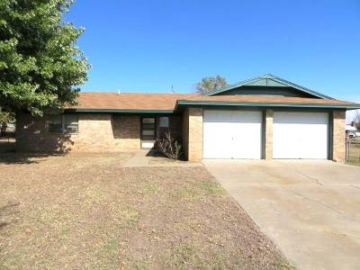 Chickasha Single Family Home For Sale: 854 County Road 1315