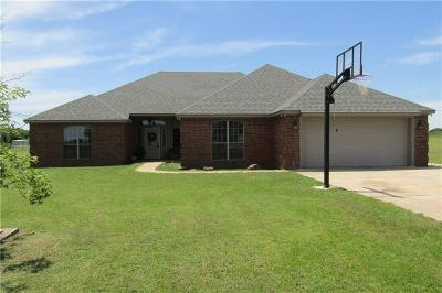Chickasha Single Family Home For Sale: 1283 County Road 1337
