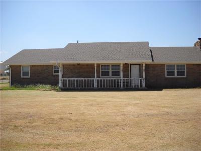 Sayre Single Family Home For Sale: 18452 E 1180