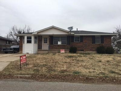Mangum OK Single Family Home For Sale: $50,000