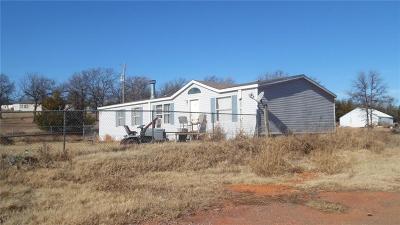 Wellston Single Family Home For Sale: 332246 E Hidden Canyon