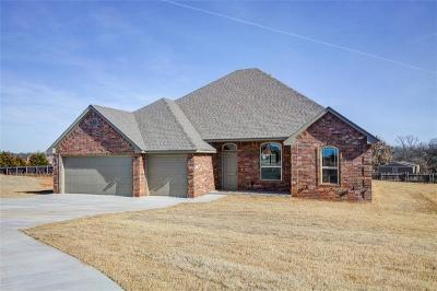 Blanchard OK Single Family Home Sold: $206,000