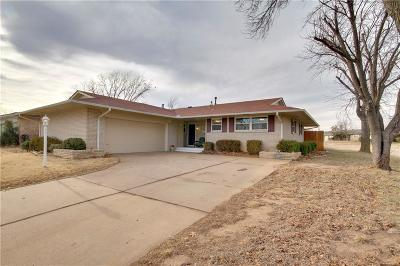 Oklahoma City Single Family Home Sold: 10609 Lyndon