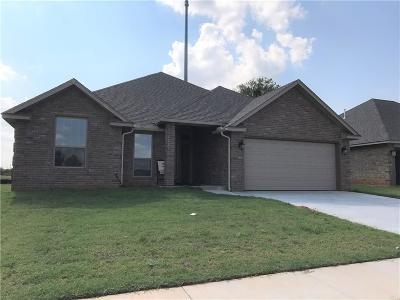 Blanchard OK Single Family Home For Sale: $171,000