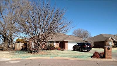 Sayre Single Family Home For Sale: 809 Hunter Lane