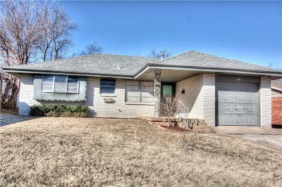 Moore Single Family Home For Sale: 721 N Dillon Avenue