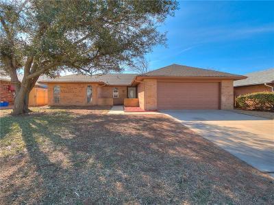 Oklahoma City Single Family Home For Sale: 8512 Crestline