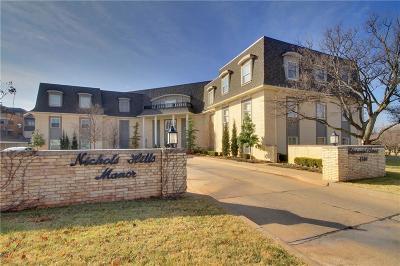 Nichols Hills Condo/Townhouse For Sale: 1114 Sherwood Lane #B-1