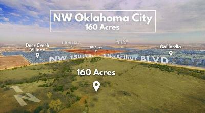 Oklahoma City Residential Lots & Land For Sale: 150th & Macarthur 149a
